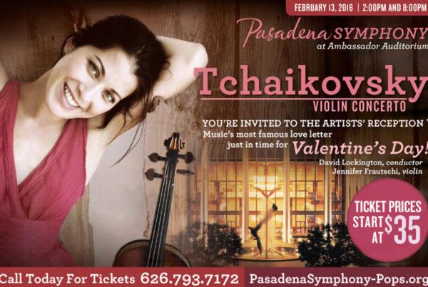 PostCard - Pasadena Symphony