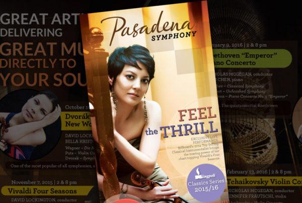 Brochure - Pasadena Symphony