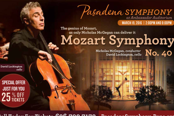 Postcard Pasadena Symphony