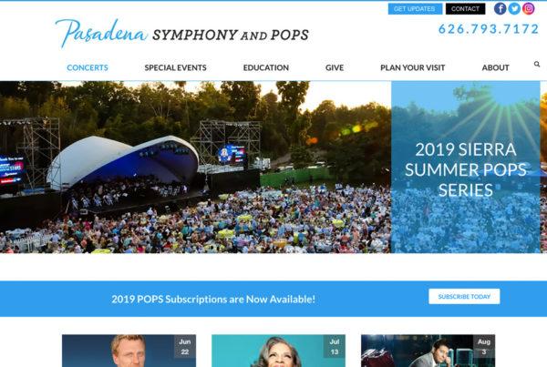 Pasadena Symphony and Pops